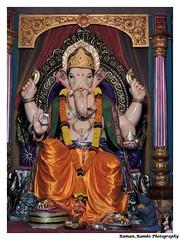 Ganesh Chaturthi Celebration 2014 (Raman_Rambo) Tags: india festival temple ganesha god indian decoration festivals lord celebration holy celebrations ganesh idol pooja maharashtra om mumbai hindu festivities puja cultural idols mandir chaturthi ganapati bappa mandal diety aarti dombivli ganeshotsav morya bhajan gajanan ganaraya ganapatibappamorya ramansharma vignaharta