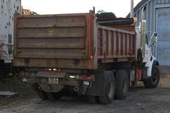 CN 3-WAY DUMP 077536 rear view Ottawa, Ontario Canada 112108 Ian A. McCord (ocrr4204) Tags: ontario canada cn truck ottawa camion maintenance mow vehicle mccord cnr canadiannational cnrail vhicule maintenanceofway maintenanceofwayequipment ianmccord ianamccord