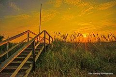 Stairway To Heaven (T i s d a l e) Tags: beach sunrise coast nc september walkway outerbanks stairwaytoheaven tisdale southernshores 2013 barrierdunes