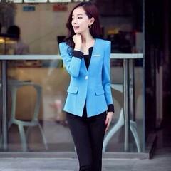 ชุดสูททำงาน แฟชั่นเกาหลีผู้หญิงกางเกงสวย3ชิ้นหรู นำเข้าไซส์Sถึง3XLสีดำ พรีออเดอร์SJ1348 ราคา2850บาท ชุดสูททำงาน แบบชุดสูทกางเกงสวยหรูหรางานคุณภาพระดับพรีเมี่ยมเกรดขึ้นห้าง ด้วยชุดสูททำงานผู้หญิงมี3ชิ้นประกอบด้วยเสื้อสูทแฟชั่นแขนยาวคอวี กางเกงทำงานแฟชั่น เ