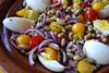 Salade met flageolets... (ellenbouckaert) Tags: flageolet frijol flageoletbohne