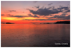 Cavtat (mihaipiscureanu) Tags: sunset sea night landscape landscapes nikon croatia dubrovnik cavtat adriatic d700 nikond700