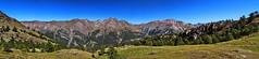 Val d'Aosta - Valle di Cogne, panorama dal bivio per il Pousset Superiore, 3 foto (mariagraziaschiapparelli) Tags: trekking estate montagna va