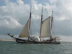 Ameland-Boschplaat NL 2014 (Alta alatis patent) Tags: sailing explore linde waddensea bruinevloot zomer2014