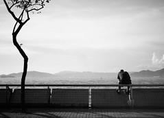 Desolation (~~Victor Liu~~) Tags: people blackandwhite bw hk art monochrome digital hongkong 50mm nikon asia afternoon n streetphotography nostalgia nikkor 18 desolation praya kennedytown astage d700 flickrhongkong flickrhkma