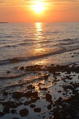 Michigan in its Glory (tmark_f07) Tags: sunset nature water sunrise landscape nikon waves michigan lakemichigan beautifulearth glap d5100