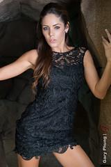 Miranda Hayes (gphunk) Tags: beauty model photoshoot curvy babes hottie brunette busty blackdress mirandahayes mirandanicole