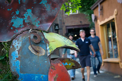 Surprised Rooster (brad connolly) Tags: street people oregon portland candid sony streetphotography pdx alpha a6000 emount ilce6000