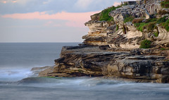 Mackenzies Point between Bondi and Bronte (astrogirl969) Tags: fujifilm fujifilmxc50230mmf4567ois haidandfilters nd64 longexposure iwps outing outdoor water rocks cliff mackenziespoint bondi clouds morning nikcolorefex4 filmsimulation velvia adobecameraraw acr pselements landscape coast ocean serene calm peaceful tranquil postprocessed 20faves 2000views xe1