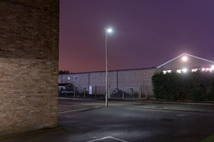 Overflow (Dan Parratt) Tags: newtopography newtopographics nonplaces nightphotography night industrial empty streetlight lightpollution