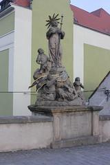 Św. Franciszek Ksawery (magro_kr) Tags: kłodzko klodzko polska poland śląsk slask dolnośląskie dolnoslaskie statua rzeźba rzezba statue sculpture
