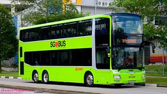 SMRT (SG<3BUSES Lush Green) - MAN A95 (Batch 3) - SG5800M - Bus Service OFF SERVICE (hagenpapa14) Tags: smrt sg3buses lush green man a95 batch 3 old new cheesy nostalgic busesingapore