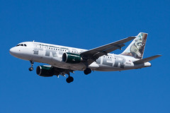 Frontier Airlines Airbus A319 N923FR (jbp274) Tags: las klas mccarran airport airplanes frontier frontierairlines f9 airbus a319
