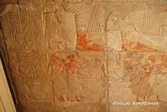 From a tomb wall (konde) Tags: 18thdynasty newkingdom saqqara mayaandmeryt mayaandmerit ancient tomb hieroglyphs