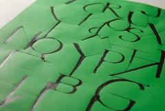 Green (Ivan Jernimo) Tags: pen freestyle expressive brazilian calligraphy sumi ruling caligrafia nanquim   expressiva    tiralinhas