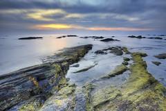 Tanjung Jara (Alex cheong) Tags: seascape rock sunrise landscape malaysia tanjungjara canon6d