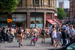 London Naked Bike Ride 2014 - DSC05300a (normko) Tags: world london bike naked nude demo democracy energy ride natural body bare transport protest free clothes demonstration human cycle oil nudist naturist dependency sustainable 2014 wnbr