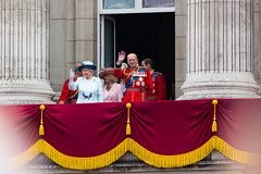 Greeting the Crowd (Mikepaws) Tags: park uk greatbritain england london westminster army edinburgh unitedkingdom balcony military capital ceremony royal harry duke prince parade celebration event buckinghampalace monarch historical annual procession phillip camilla philip monarchy elizabethii queenelizabeth sovereign thequeen royalfamily consort 2014 ceremonial hermajesty duchessofcornwall troopingthecolour unitedkingdomofgreatbritain headofstate