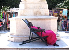 Siesta (sladkij11) Tags: people woman sevilla sleep streetphotography andalusia