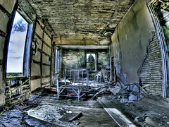 It's Always Better Outside (MomoFotografi) Tags: house canada abandoned chair decay olympus fisheye hdr estrie e5 megantic samyang
