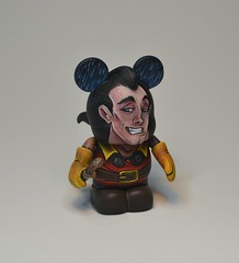 Gaston (Jared Circusbear) Tags: urban art beauty toy mouse princess action handmade disneyland painted vinyl disney mickey plastic disneyworld ballroom figure belle beast collectible custom figurine villain gaston dunny circusbear munny vinylmation munnyworld