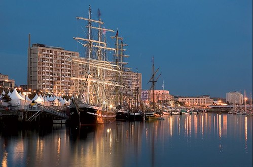 Le port de Boulogne-sur-Mer