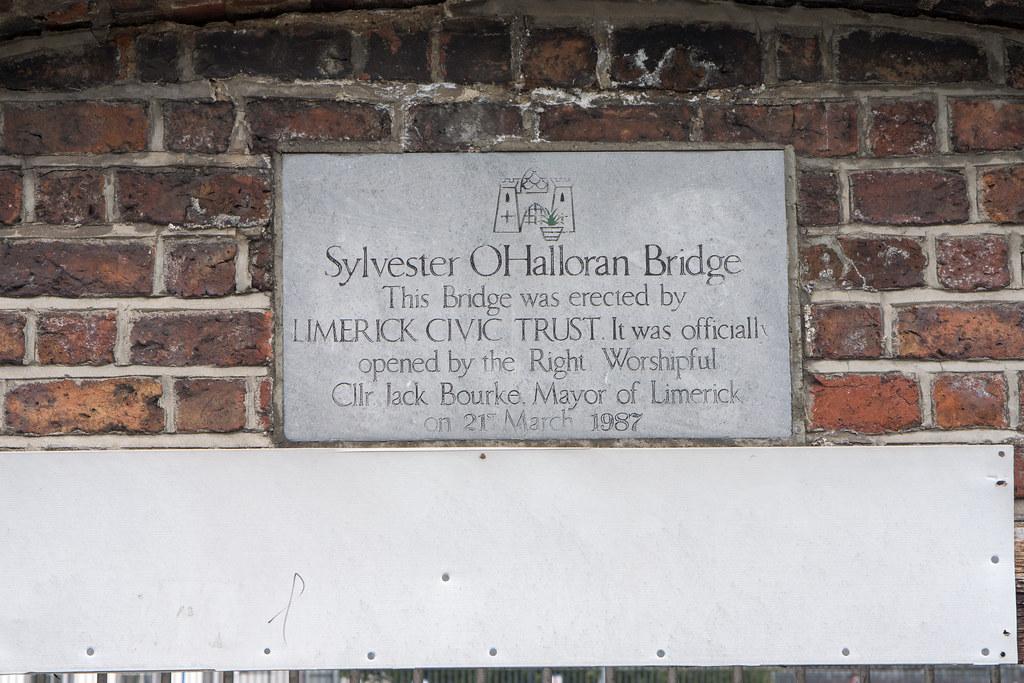 Sylvester  O'Halloran Bridge In Limerick