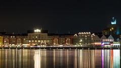 Disney World -  Boardwalk @ Night (myfrozenlife) Tags: trip travel vacation usa lake holiday reflection night america canon hotel orlando unitedstates florida disney 7d boardwalk wdw kissimmee