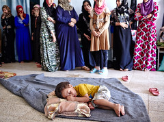 Iraq Crisis: Finding a Place to Stay (UNHCR) Tags: boy sleeping baby standing women floor iraq middleeast hijab help aid violence shelter protection assistance unhcr mosul insecurity displaced displacement idps dahouk internallydisplacedpeople displacedpersons displacedpeople internallydisplaced unrefugeeagency unitednationsrefugeeagency unitednationshighcommissionerforrefugees unhighcommissionerforrefugees