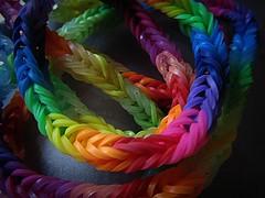 Rainbow bracelet (april-mo) Tags: rainbow multicoloured bracelet multicolored rainbowbracelet multicoloredbracelet