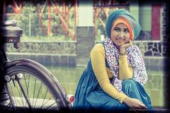 Smile for You (Luqman Agung W) Tags: girl beauty fashion model hijab malang