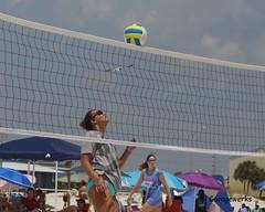 Gulf Shores Beach Volleyball Tournament (Garagewerks) Tags: woman beach girl sport female court sand all child gulf sony sigma tournament volleyball shores f28 70200mm views50 views100 views150 slta77v
