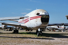 Ex-TWA 707-331B, N774TW (Ian E. Abbott) Tags: aircraft jet boeing 500views 707 boneyard twa airliner boeing707 davismonthan amarc davismonthanafb jetairliner 18406 transworldairlines masdc lostwings amarg derelictaircraft aircraftstorage n774tw 707331b desertboneyard aircraftscrapping cn18406