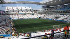 Arena Corinthians Stadium (Ricardo Moreira Photos) Tags: chile netherlands field stadium sopaulo soccer arena campo holanda fans estdio futebol gramado corinthians worldcupbrazil2014 arenacorinthians