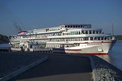 Мышкин, Волга, пристань / Myshkin, Volga river wharf