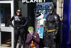Happy 75th Batman (spikeybwoy - Chris Kemp) Tags: costumes newcastle dc costume cosplay event superhero batman dccomics villain northeast catwoman newcastleupontyne thejoker thedorkknight httpswwwfacebookcomtdkjk