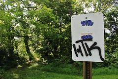 Sel, HTK (NJphotograffer) Tags: new sign graffiti sticker nj jersey slap usps graff sel htk seler