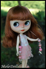 OOAK Custom Neo Blythe Doll N.80 by Carmen - MoleDolls (MoleDolls) Tags: cute doll ooak carving pop blythe neo boneca custom magnifique monique puppe mueca bambola poupe blythes boneka personalizada customizada neoblythe pouppe moledolls