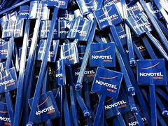 พิมพ์ไม้คนเครื่องดื่ม โนโวเทล | Print on Stirrer Novotel Hotel