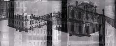 Grand Canal Blender (selection) (pho-Tony) Tags: venice blackandwhite bw white 3 black bus film water monochrome analog 35mm square exposure doubleexposure double ishootfilm blender format analogue 24mm 40mm f56 agfa cassette venezia rapid 56 grandcanal obsolete vaporetto karat 24x24 radix ilfosol bilora filmisnotdead agfakarat agfarapid 24mmx24mm biloxar radix56