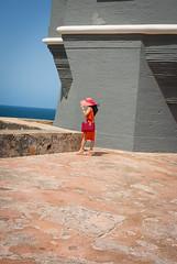 DSC_0208 (Rouchel Esposito) Tags: orange lady puerto san juan fort rico morro
