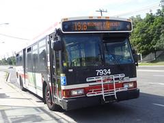 Toronto Transit Commission 7934 on 191 Highway 27 Rocket (Orion V) Tags: ttc