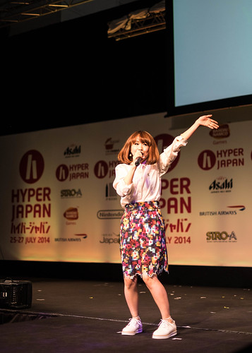 Yanagi Nagi performance Hyper Japan