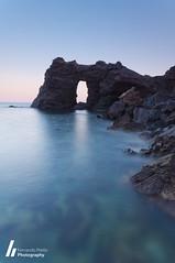 El Arco del Rey (King's Arch) (F. Prieto // fprieto.es) Tags: longexposure sea costa seascape landscape coast mar rocks arch paisaje murcia arco roca largaexposicion cabopalos fernandoprieto calaflores arcodelrey kingarch