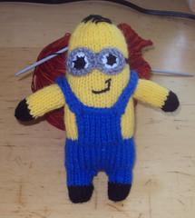 Knitting Pattern Minion Toy : Ravelry: