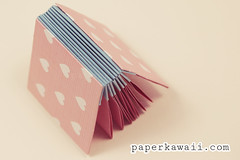 origami blizzard book tutorial video (paperkawaii) Tags: cute paper book origami craft mini howto kawaii blizzard tutorial papercraft blizzardbook