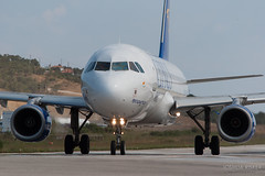 5B-DCL | Cyprus Airways A320-232 | Skiathos LGSK/JSI (Joshua_Risker) Tags: island photography airport amazing fantastic low airplanes approach skiathos spotting jsi lgsk