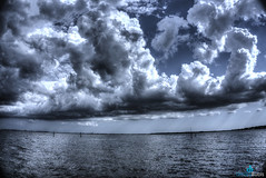 Calm before the Storm (dbubis) Tags: storm water rain clouds shower florida fl hdr bubis dbphoto nex6