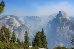North Dome, Basket Dome, Half Dome & Tenaya Canyon (ST33VO) Tags: california park trees usa mountains america point landscape us basket view awesome united north lookout canyon glacier national valley yosemite dome half vista states peaks domes glacial tenaya