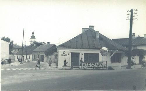 róg ul. Kieleckiej i ul. Kościuszki